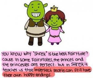 shrek, love, and fairytale image