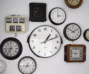 clocks and time image
