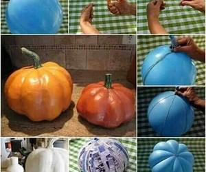diy, Halloween, and pumpkin image