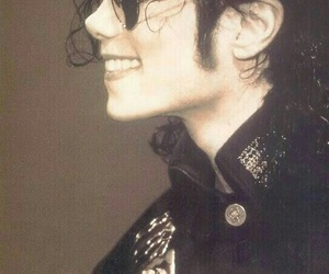 michael jackson, king of pop, and smile image