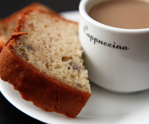 food, cappuccino, and coffee image