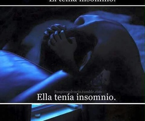 insomnio, amor, and frases image