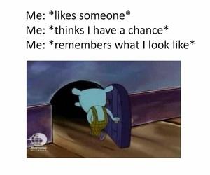 funny, me, and sad image