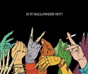 Halloween, monster, and hands image