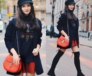 Couture, sweater, and bottes image