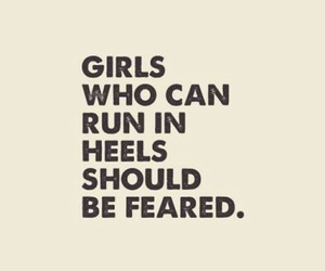 girl, quotes, and heels image