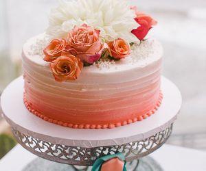 cake, nice, and wedding image