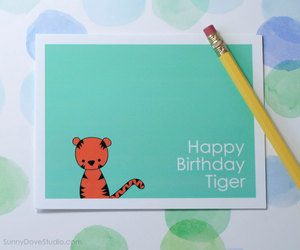birthday, cards, and etsy image