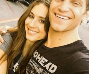 troian bellisario, keegan allen, and spoby image