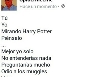 harrypotter, hp, and spiderman image