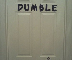 harry potter, funny, and door image