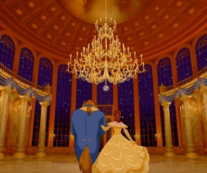 beautiful, disney, and beauty and the beast image