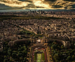 paris, france, and view image