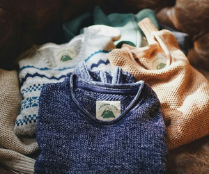 cozy, sweater, and vintage image