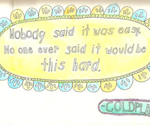 coldplay and text image