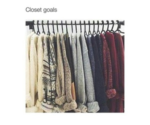 clothes, sweater weather, and goals image