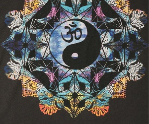 indie, peace, and yin yang image
