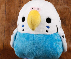 bird, doll, and love image