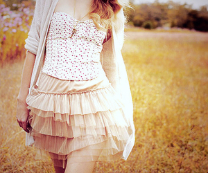 alone, pretty, and skirt image