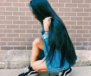 long hair, morena, and pretos image