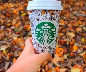 fall, starbucks, and autumn image