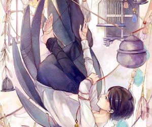 boy, angel, and anime image