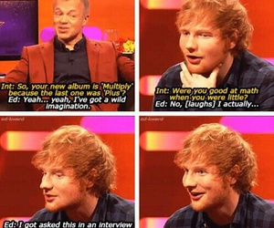 ed sheeran and funny image