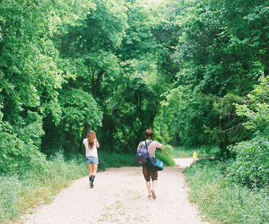 adventure, boy, and girl image
