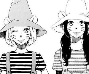 manga, hirunaka no ryuusei, and kawaii image