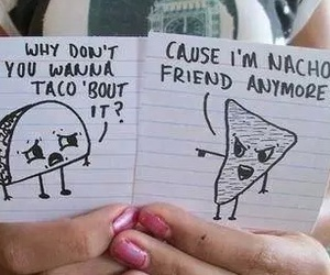 food, taco, and funny image