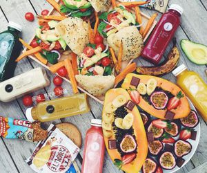 colorful, food, and fruit image