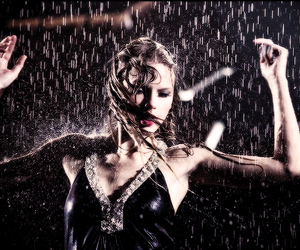 Taylor Swift, fearless, and rain image