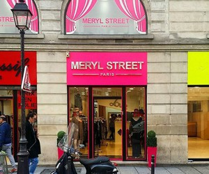 meryl streep, shop, and paris image
