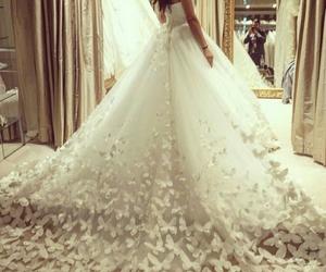 bride, Dream, and wedding dress image
