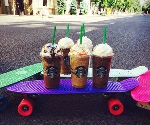 skate and starbucks image