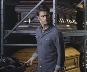 salvatore, tvd, and stefan image