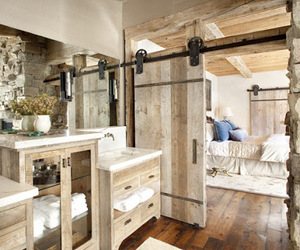 rustic, wood, and design image