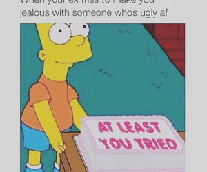ex, funny, and jealous image
