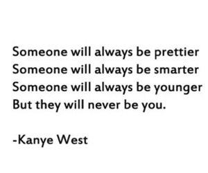 kanye west, quote, and pretty image