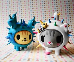 cute, cat, and tokidoki image
