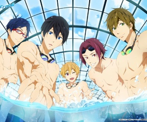 free!, anime, and rei image