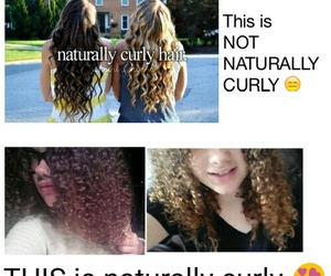 curly, hair, and natural image