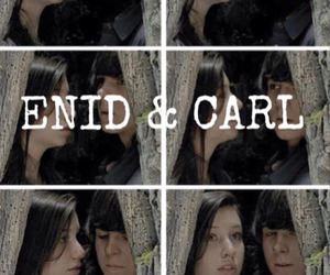 carl, enid, and Rico image