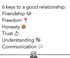friendship, good, and honesty image