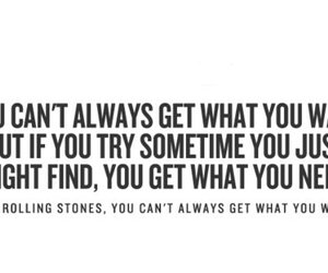 Lyrics, quote, and the rolling stones image