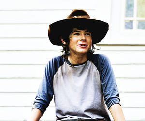 chandler riggs, carl, and chandler image