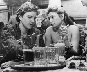 Demi Moore, andrew mccarthy, and st. elmo's fire image