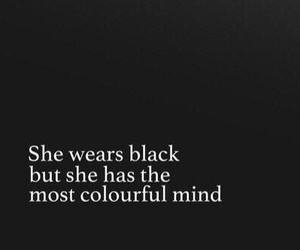 black, colorful, and girl image