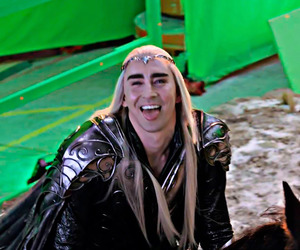 behind the scenes, lee pace, and ee image