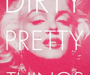 Marilyn Monroe, dirty, and pink image